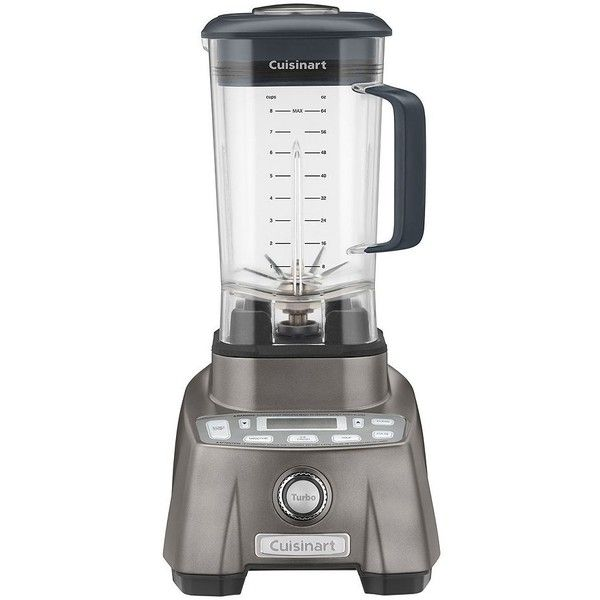 Cuisinart 3.5HP Hurricane 64-oz. Blender () found on Polyvore featuring home, kitchen & dining, small appliances, cuisinart and cuisinart blender