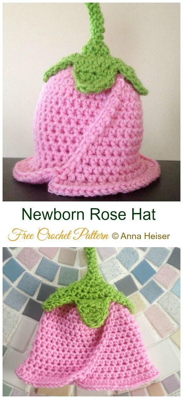 Crochet Girls Sun Hat Free Patterns Instructions