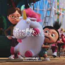 I like the 1st one, who knows I may like the 2nd one? hey, it could happen. I should go watch it soon and find out #despicableme2