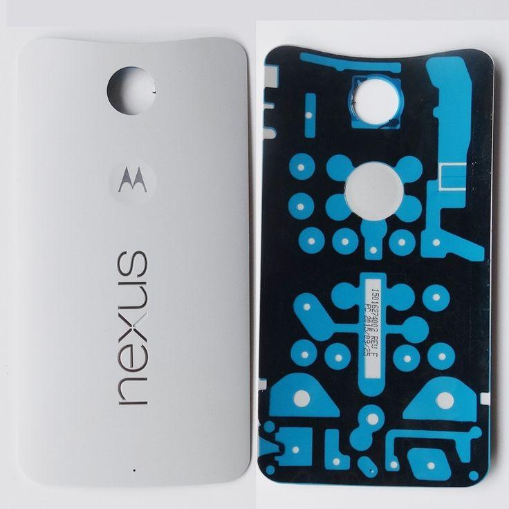Free Shipping Original Black/White Battery Housing Back Battery Door Cover For Motorola Google Nexus 6 XT1103 XT1100