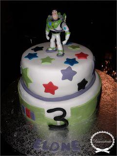 Romanticake: Gâteau Buzz l'éclair Toy Story