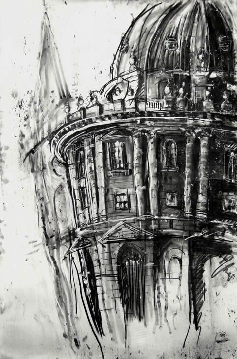 Best Buildings Architectural Sketches Images On Pinterest