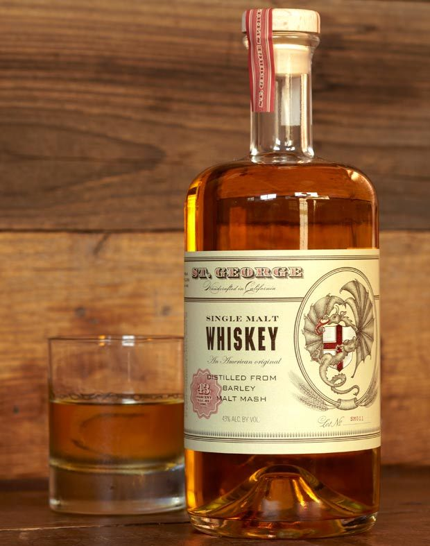 St. George Whiskey.  Love the bottle.