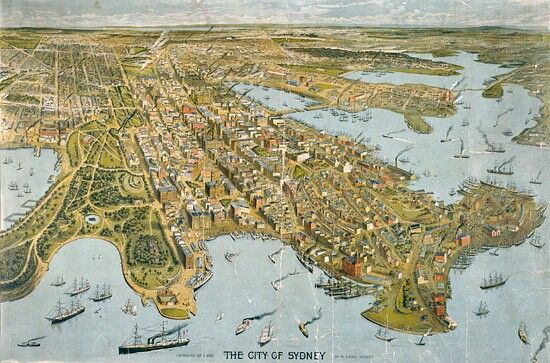 The City of Sydney in 1888