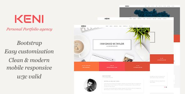 Keni - Agency Portfolio Template
