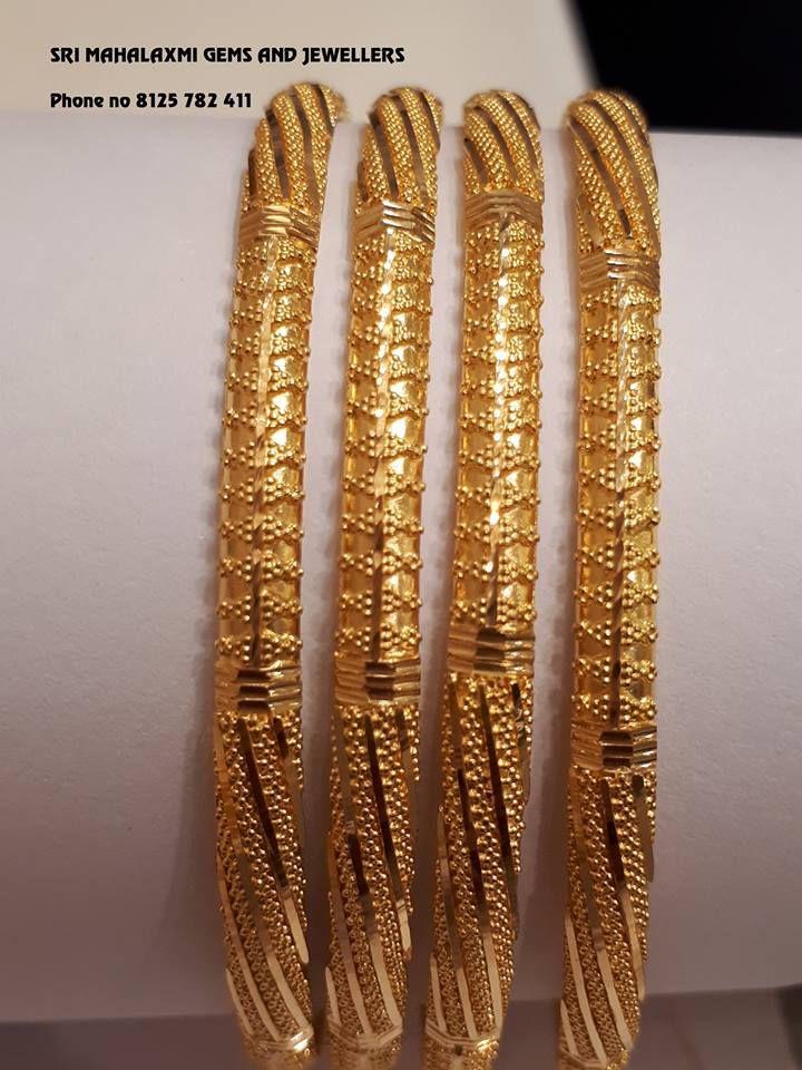fd8a64377 Gold bangles 22 Carat – boutiquedesignerjewellery.com | zewar | Gold ...