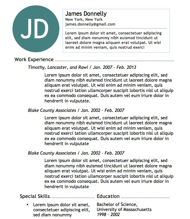 Best 25+ Basic resume examples ideas on Pinterest Employment - microsoft word 2007 resume template