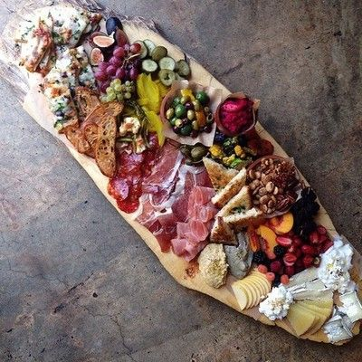 Our chef has prepared a lovely anitipasto platter for our weekly cocktail hour before supper this evening.   This has become a favorite Friday evening tradition at The Inn.