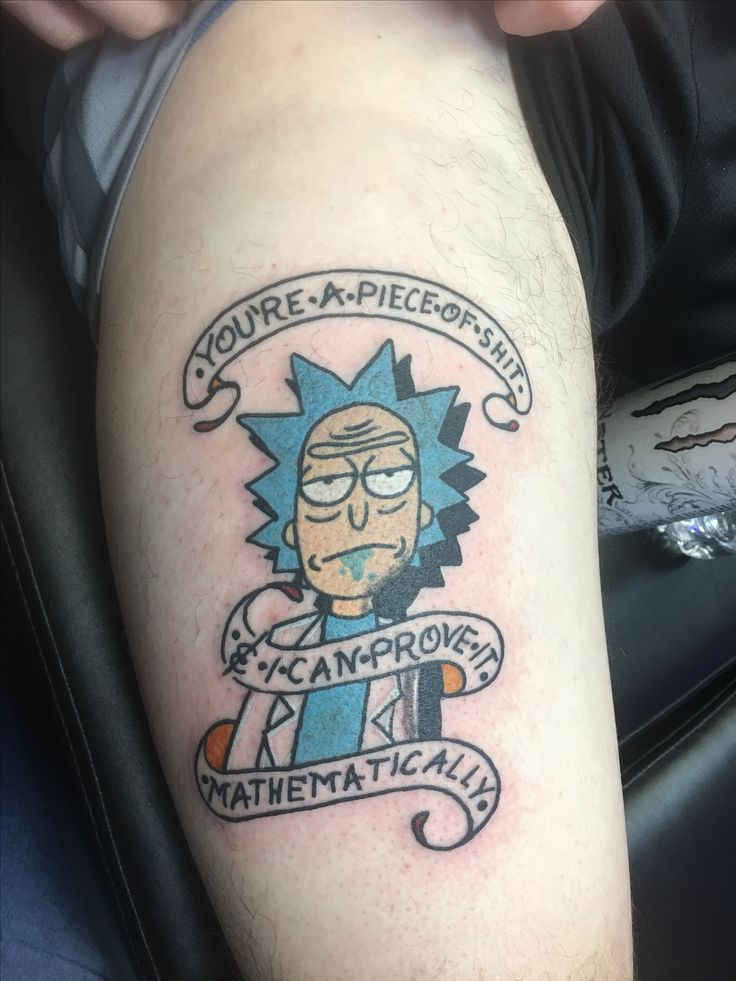 Tattoo Rick And Morty: 63 Best Images About Tattoo Ideas On Pinterest