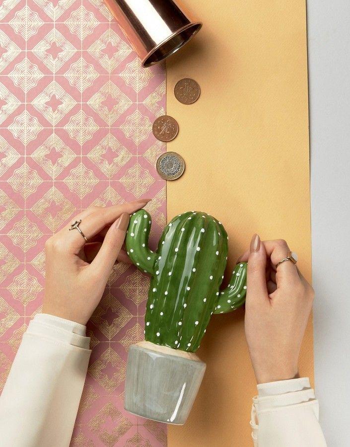 Sass & Belle Cactus Money Pot