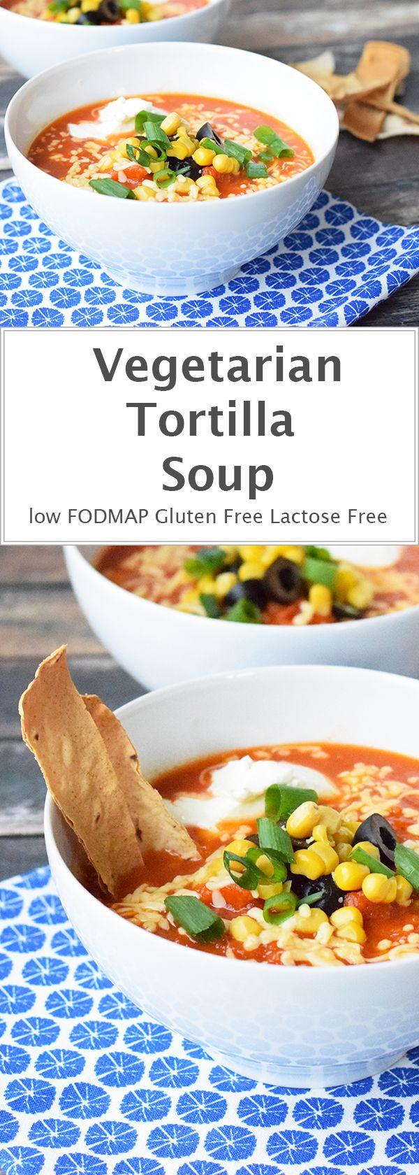 ... Vegetarian Tortilla Soup on Pinterest | Soups, Tortillas and Soup
