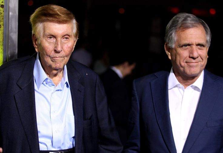 Sumner Redstone Steps Down as CBS Chairman Replaced by Leslie Moonves