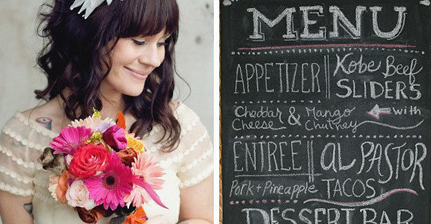 17 Useful Cheat Sheets For Anyone Planning A Wedding