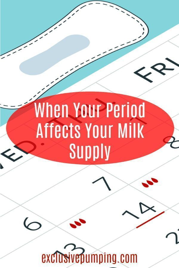 Does your breast milk supply tank when you have your period? Here are tips  to bring it back up, including lactation teas, oatmeal, cal-mag, and more!