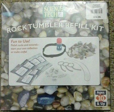 Science-Tech-Rock-Tumbler-Refill-Kit-New-in-Box