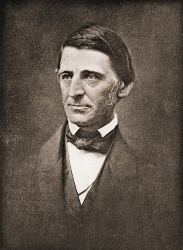 Self-Reliance, by Ralph Waldo Emerson: Ralph Waldo Emerson  (1803-1882)
