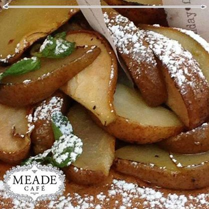 We make sure to bring you delicious food made from the freshest ingredients. Visit Meade Cafe for a tasty lunch or a scrumptious breakfast. #lunch #breakfast #meadecafe