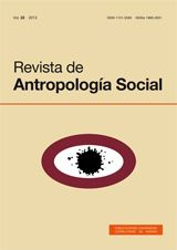Revista de Antropología Social Vol. 22 (2013)