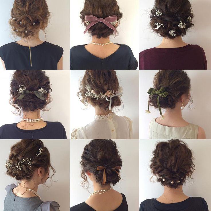 結婚式で呼ばれる機会が多くなる季節到来!パーティードレスとベストバランスのヘアアレンジを知り、おしゃれでかわいい私を演出しましょう。お手本となるスタイルをご紹介します。