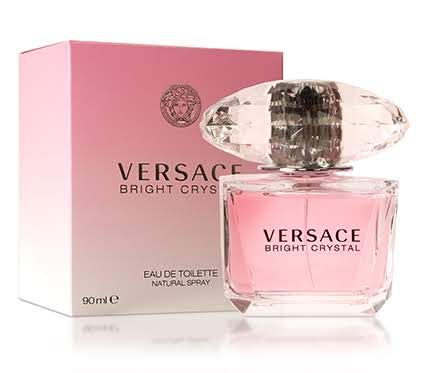 Bright Crystal For Women By Gianni Versace 3 oz EDT Spray