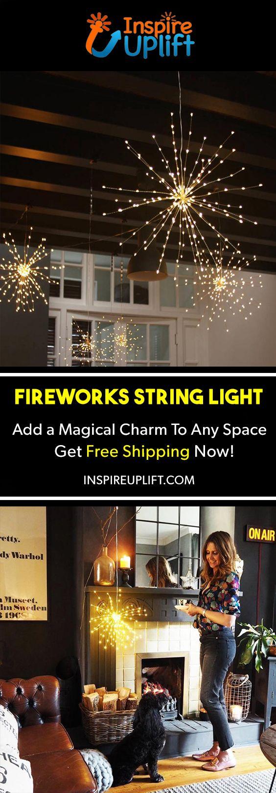Fireworks Wire String Light 😍