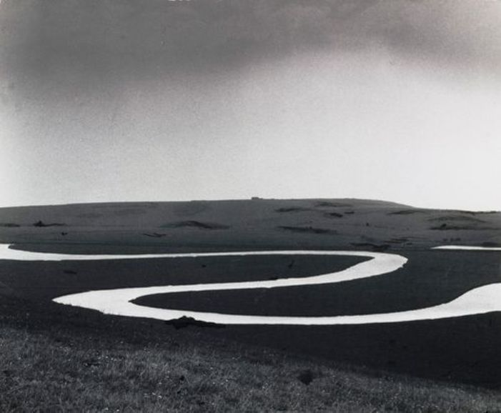 Bill Brandt (1904 - 1983) - Cuckmere River, Sussex, 1963