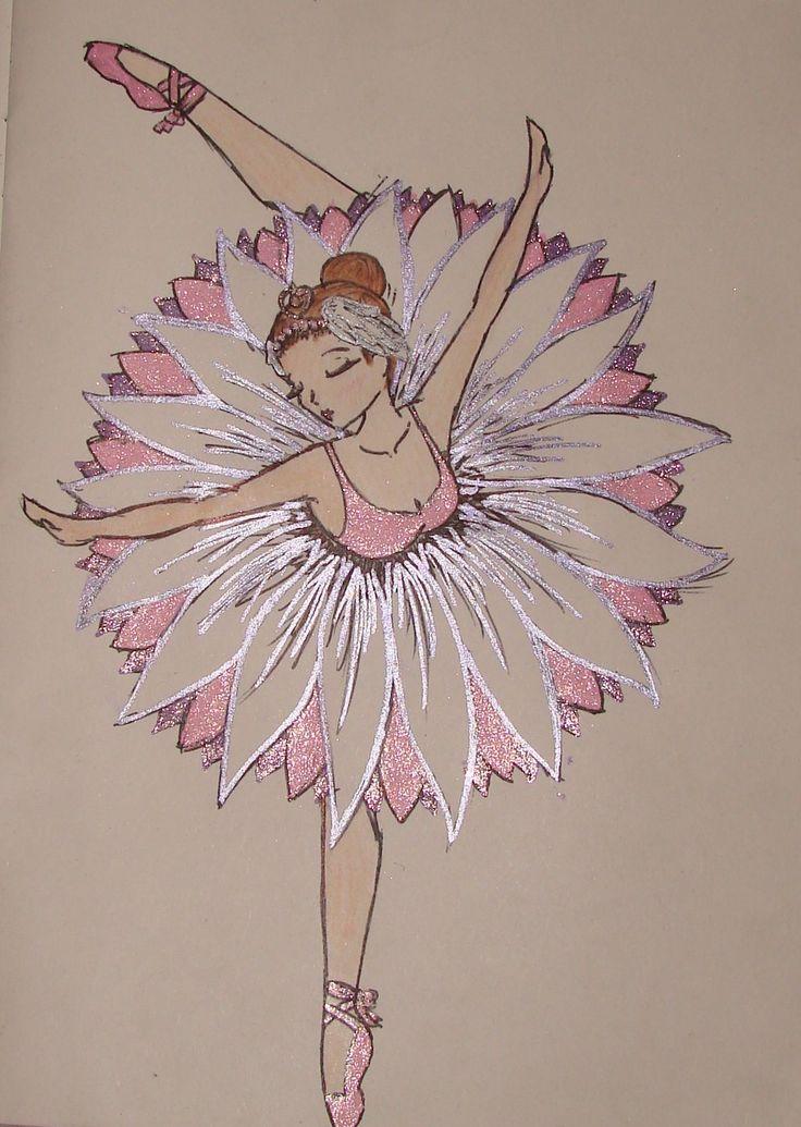 Flower Ballerina by jessigoldfish.deviantart.com on @deviantART