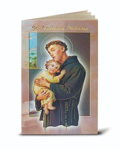 Saint Anthony Novena Book