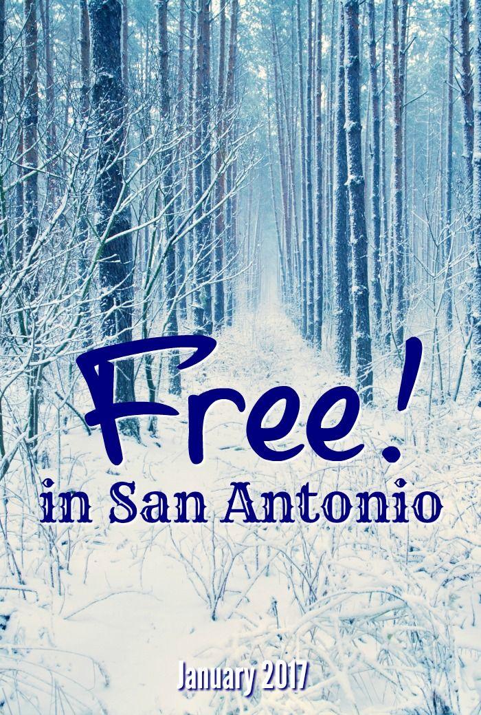 Free fun in San Antonio this January 2017