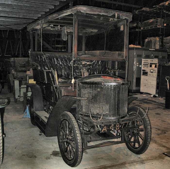 1903 Serpollet Steam Car