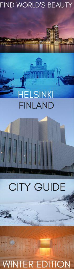 City guide: Helsinki, Finland (winter edition) – Find World's Beauty