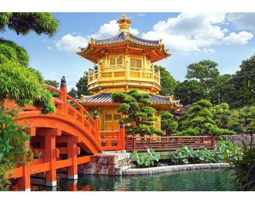 Puzzle Castorland Jardín Chino de 500 Piezas