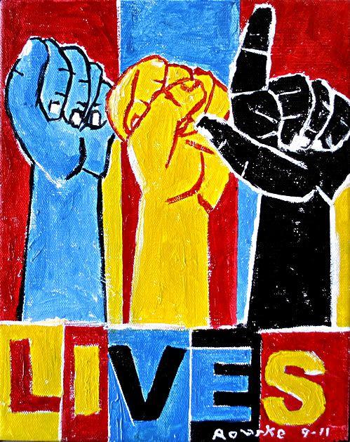 Nancy Rourke Paintings — Deaf Culture: ASL Lives