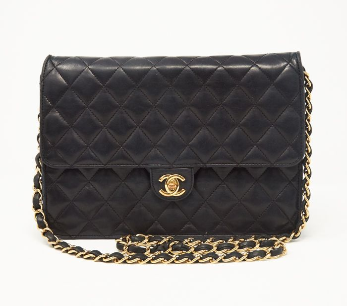 189c81ba1848 Chanel Lambskin Quilted Medium Flap Bag | Bags Available To Rent ...