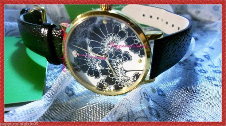 Women kate Spade  Floral Watch 1YRU0020 new box tags- Rare Find  SALE