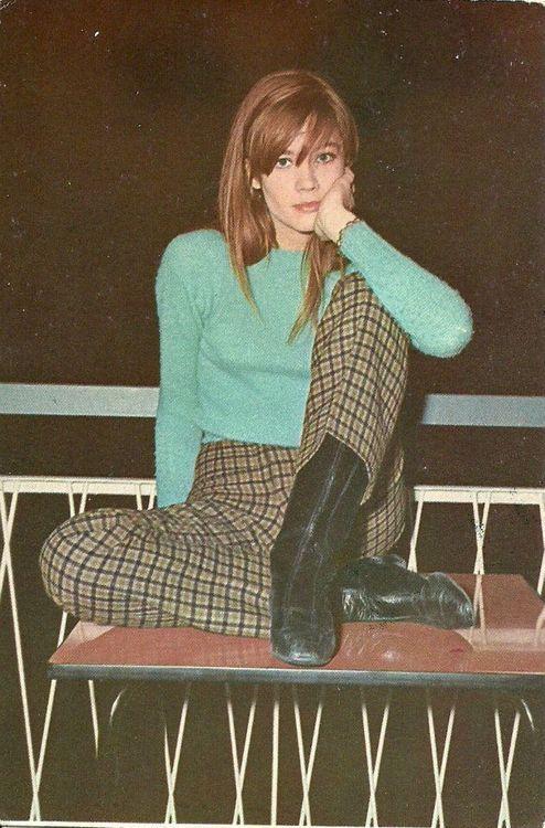 Françoise Hardy. #the2bandits #lookswedig