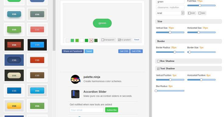 "- To Button X είναι μία εξαιρετική Online γεννήτρια Button CSS που σας επιτρέπει να δημιουργήσετε όμορφα και κομψά κουμπιά. Απλά επιλέξτε ένα κουμπί από τη βιβλιοθήκη και μετά την ολοκλήρωση του σχεδιασμού σας κάντε κλικ στο ίδιο το κουμπί για να δείτε τους CSS και HTML κώδικες ή απλά κάντε κλικ στο κουμπί ""Αντιγραφή κώδικα"" για να αντιγράψετε τον κώδικα. O παραγόμενoς κώδικας θα λειτουργήσει στους περισσότερους browsers όπως Google Chrome Firefox Safari Opera και Internet Explorer.  ΒΗΜΑΤΑ…"