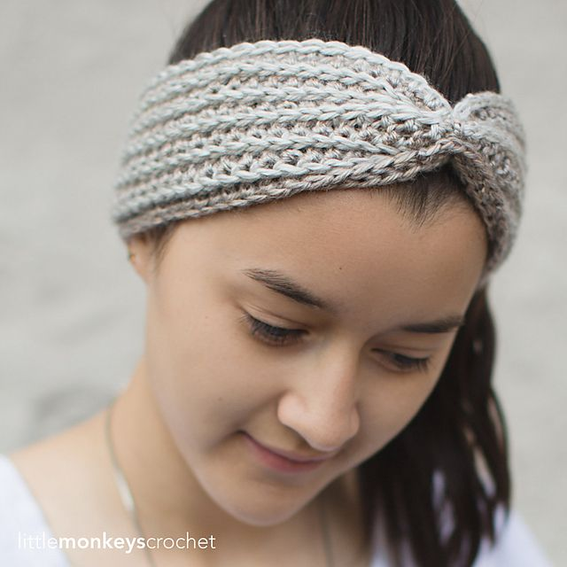 128 besten Free Headband Crochet Patterns Bilder auf Pinterest ...
