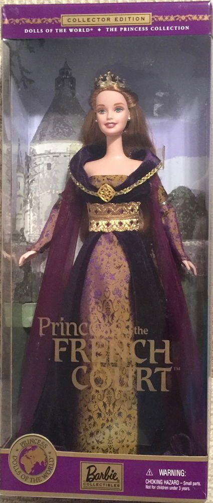 MATTEL 2000 Barbie DOLLS of the WORLD Princess French Court Figure NIB #28372 #MATTEL #DOLL