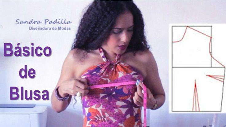 ¿Buscando la blusa perfecta? ¡Hazla tú misma! Toma nota de este patrón.