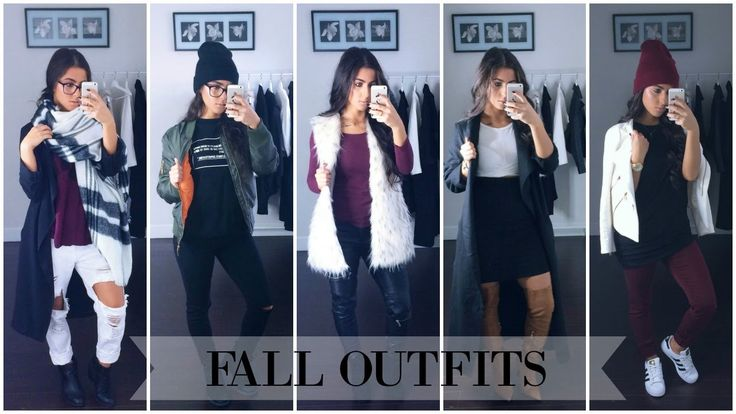 LOOKBOOK | Outfits For Fall 2015