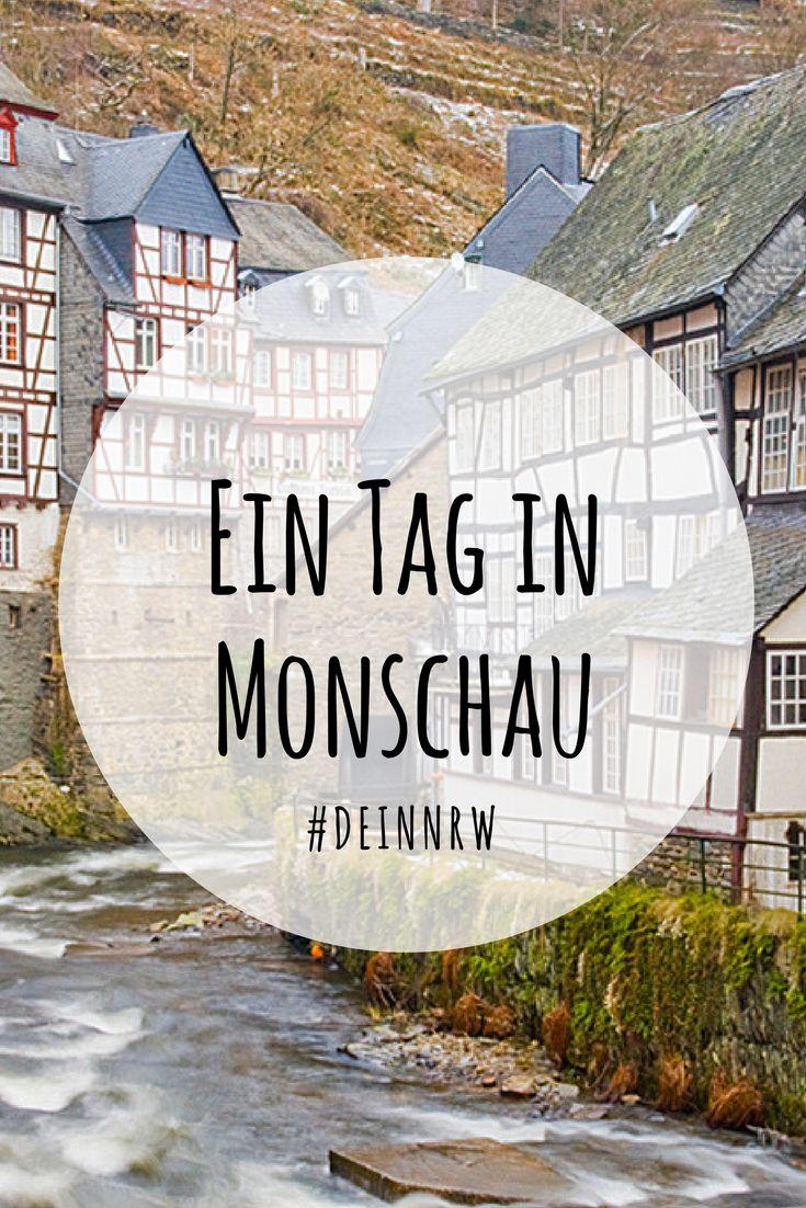 Die mittelalterliche Stadt Monschau ist zu jeder Jahreszeit eine Reise wert. Komm mit und spaziere durch verwinkelte Gassen im Luftkurort in der Eifel. #deinnrw © Dominik Ketz, Tourismus NRW