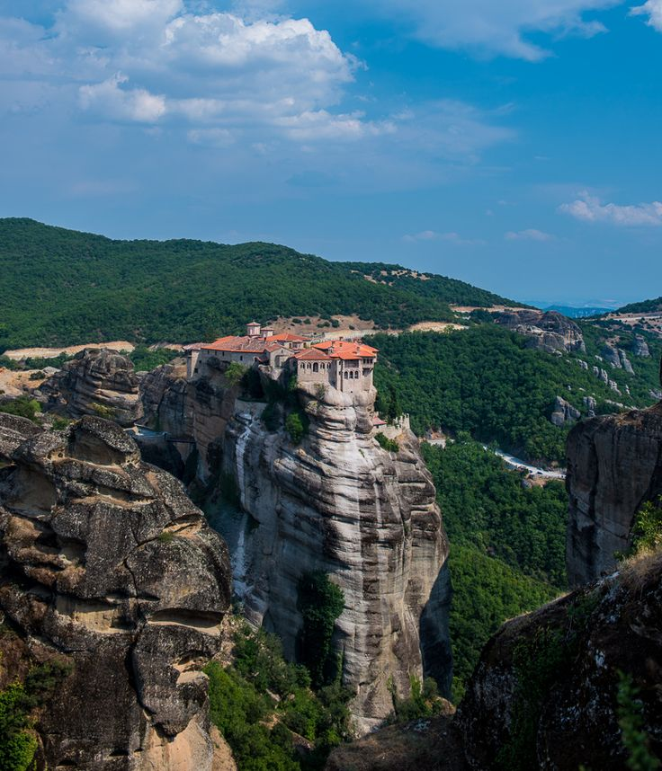 Holy Monastery of Varlaam, Meteora by Anisa Tanaka, via 500px