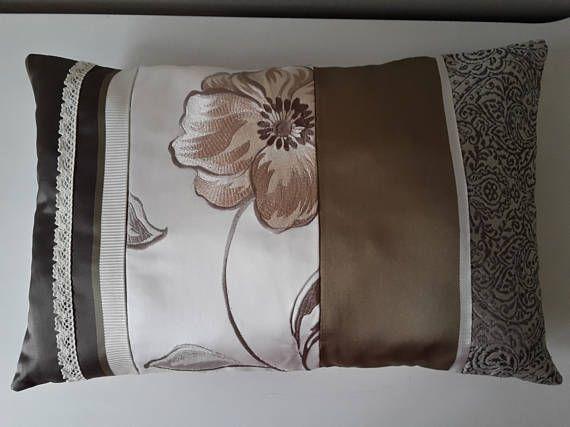 Ready to Ship Beige Decorative Pillow 12x18 Cushion