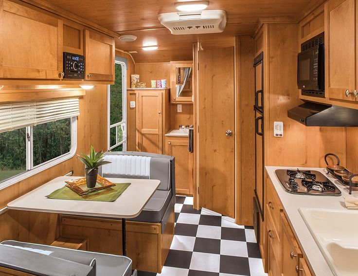 Retro Lightweight Travel Trailer Floorplans | Riverside RV