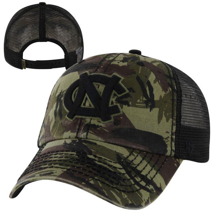 '47 Brand North Carolina Tar Heels (UNC) NCAA Artillery Adjustable Hat - Camo/Black