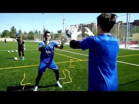 Sesión entrenamiento Porteros CE SABADELL - YouTube