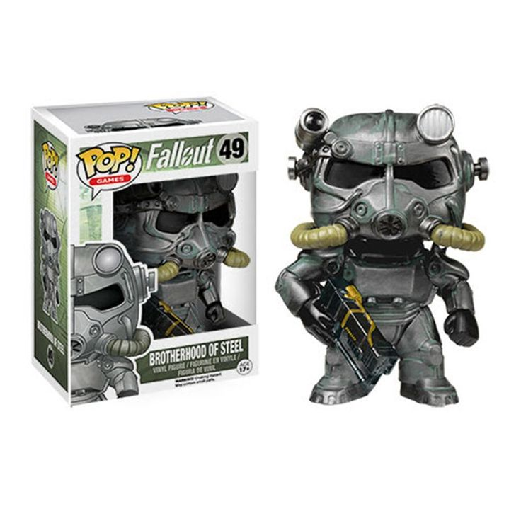 Funko Pop Fallout 4 PVC Action Figures Brotherhood of Steel Power Armor //Price: $17.50 & FREE Shipping //     #actionfigure