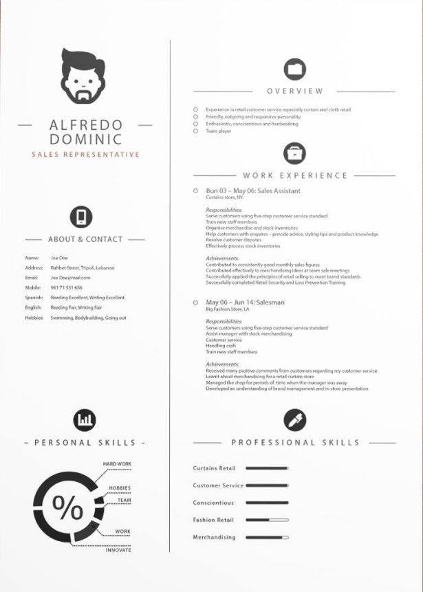 13 best Resume Ideas images on Pinterest | Resume, Resume design and ...