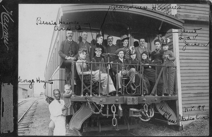 Mrs.Lillian Haynes and Party Leaving Fargo, North Dakota (1887) | by Montana State University (MSU) Library